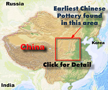 Click for Detail showing the Two Main River Systems in China